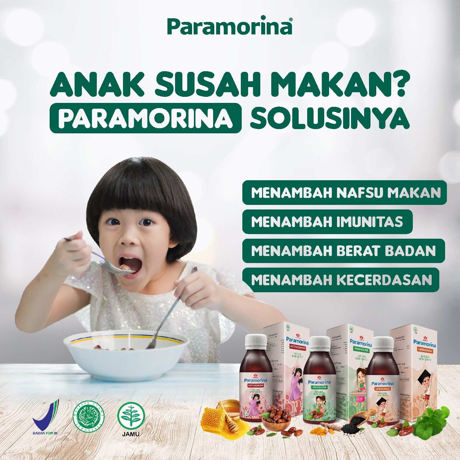 Paramorina Vitamin Herbal Anak